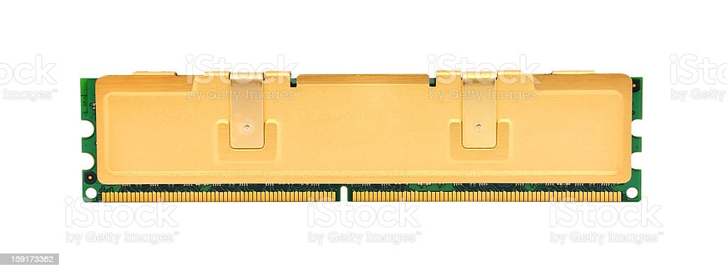gold ram royalty-free stock photo