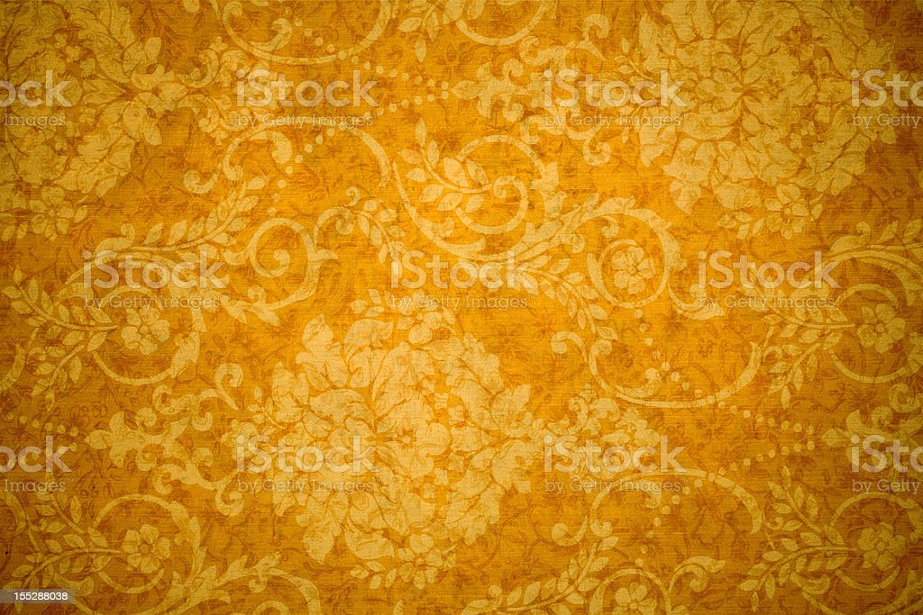 Gold Retro Background royalty-free stock photo