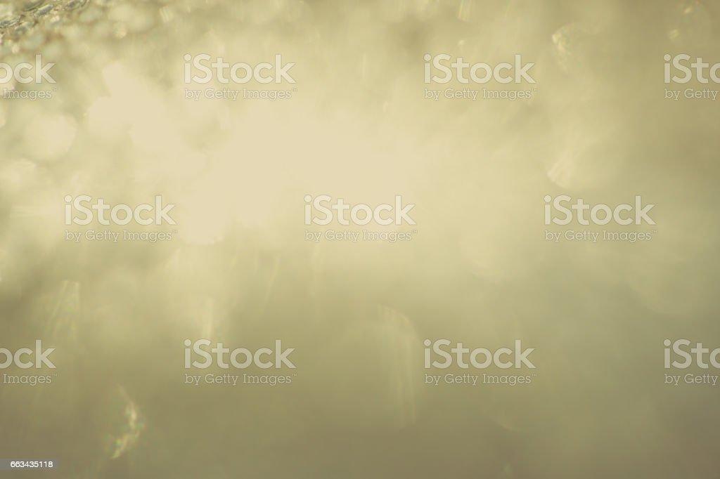 Gold rhythmic circles of light stock photo