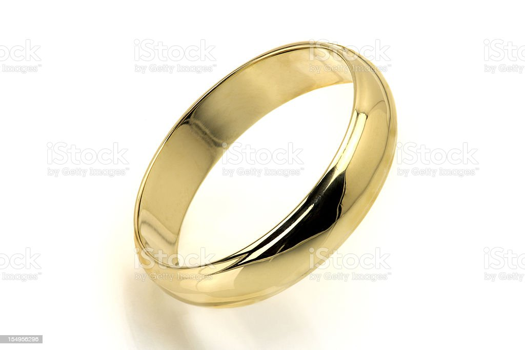 Gold Ring stock photo