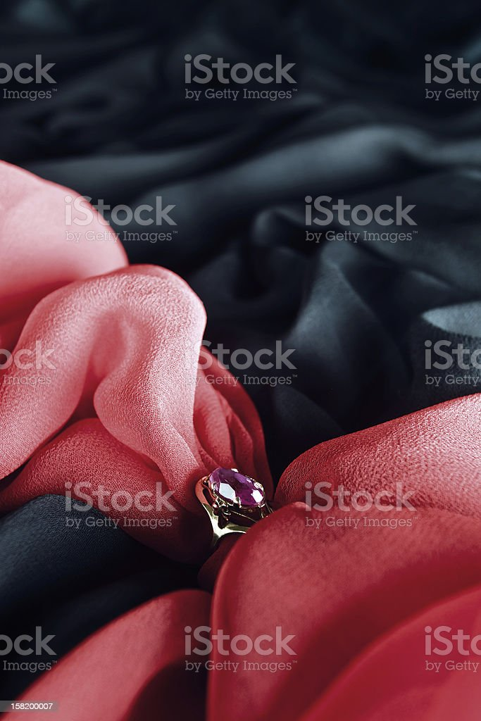 Gold ring royalty-free stock photo
