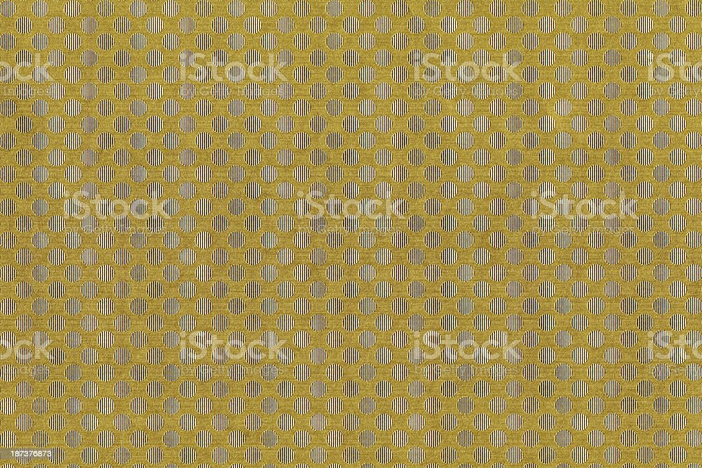 Gold round pattern royalty-free stock photo