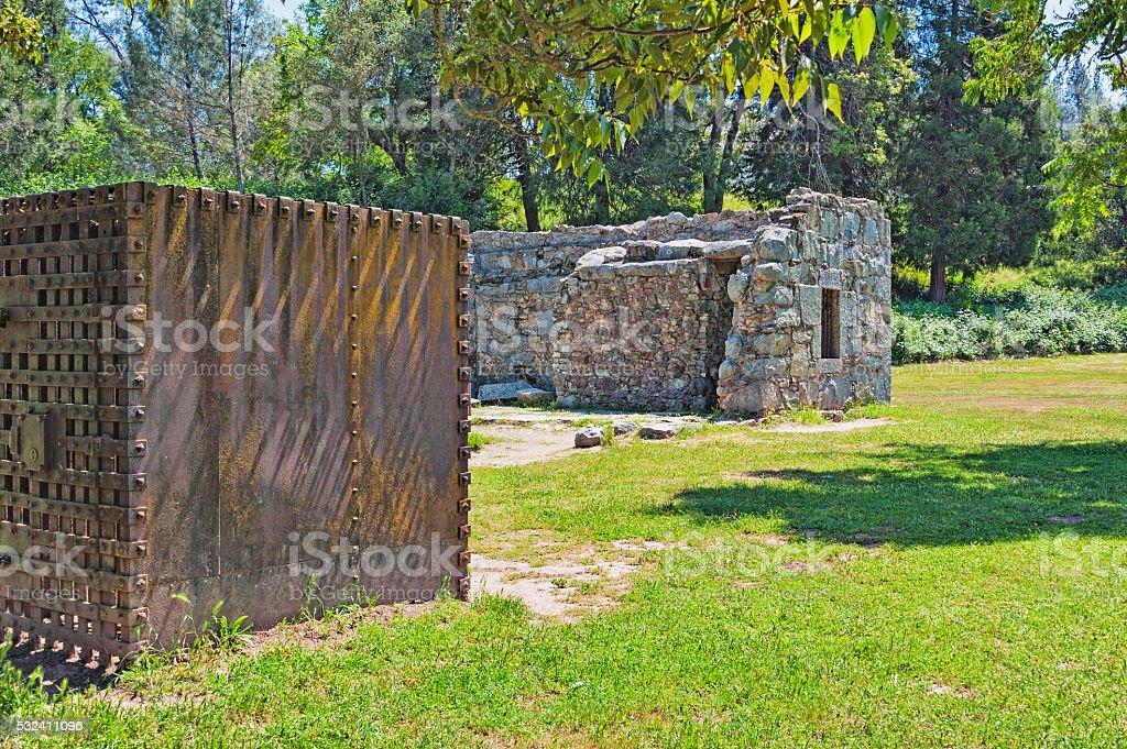 Gold Rush Legal System Landmarks stock photo