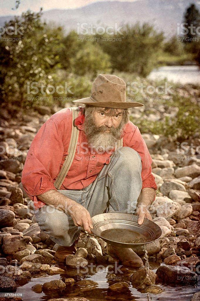 Gold Rush! stock photo