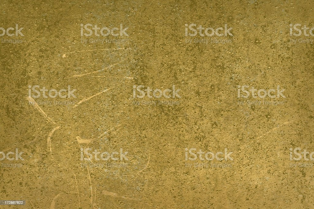 Gold Rust metal dumpster texture royalty-free stock photo