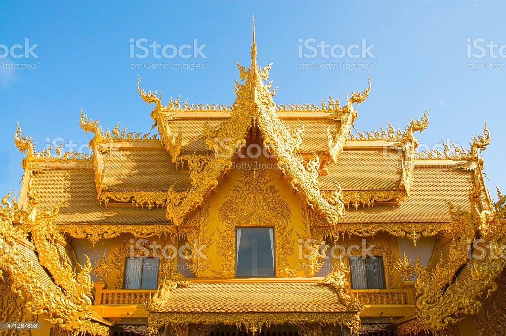 Złota Sanctuary zbiór zdjęć royalty-free