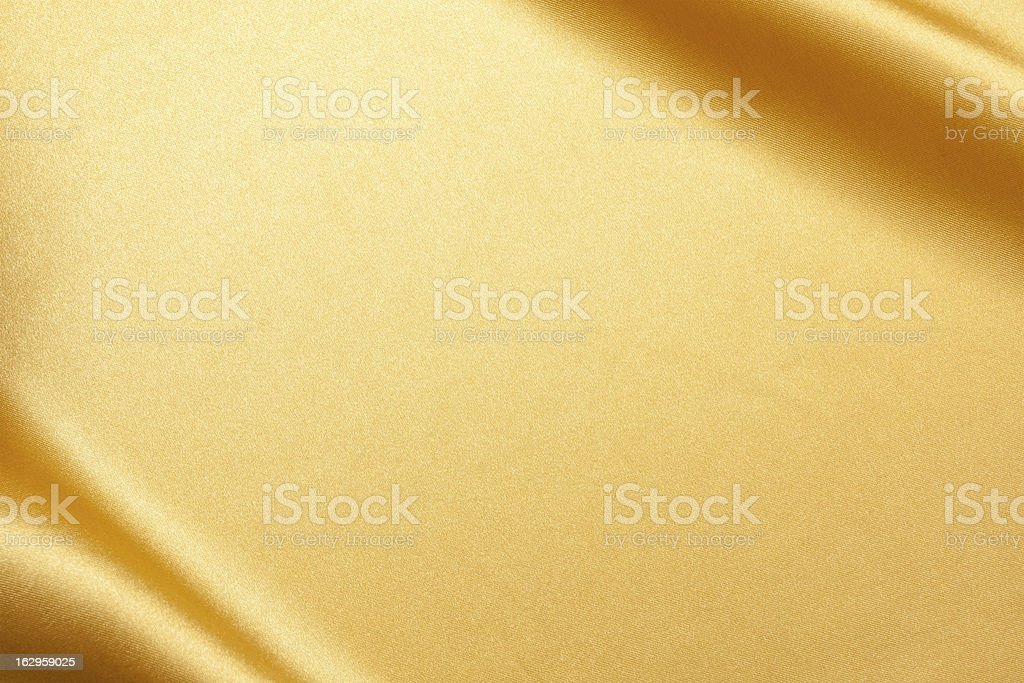 Gold Satin background textured stock photo