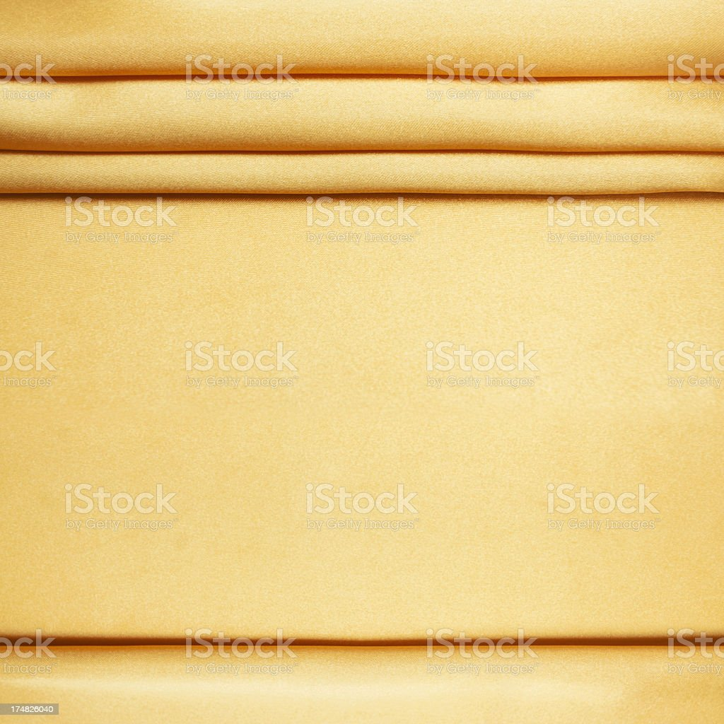 Gold Satin background textured royalty-free stock photo