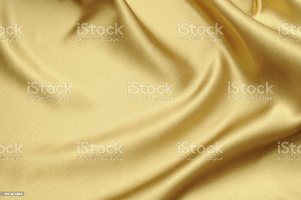Gold satin texture background royalty-free stock photo