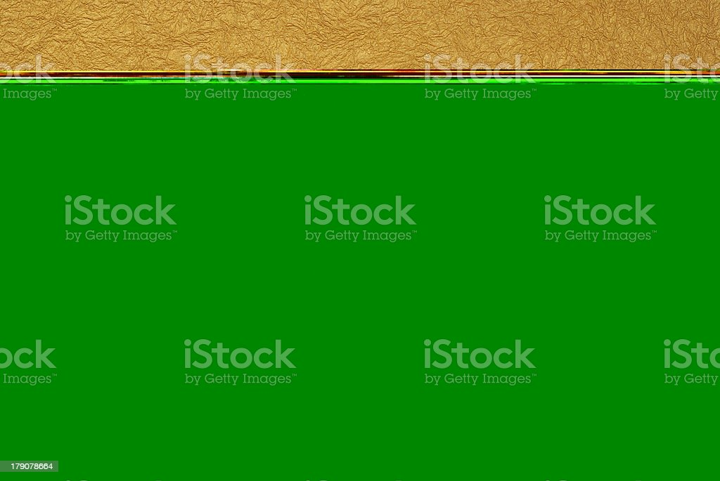 Gold sheet royalty-free stock photo