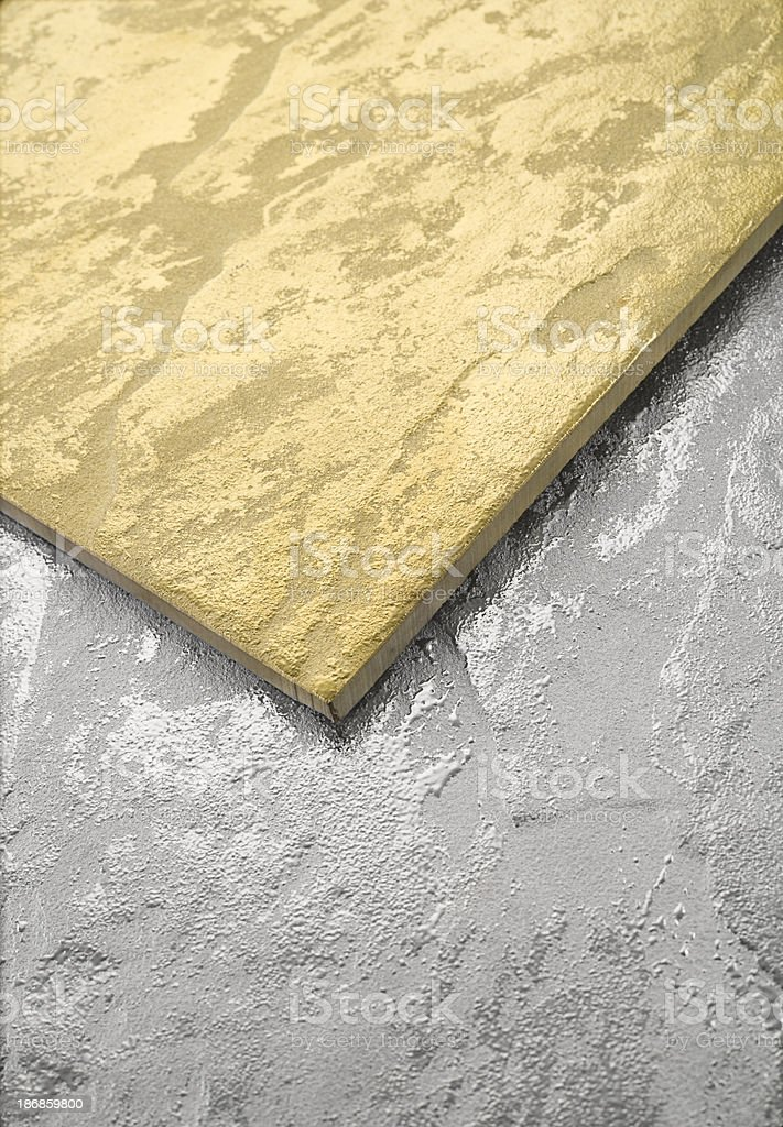 Gold & Silver royalty-free stock photo