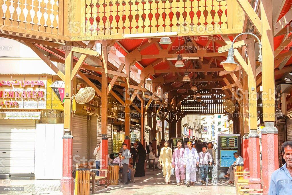 Gold Souk Dubai stock photo