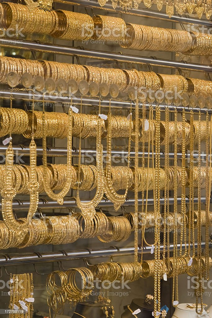 Gold Souq stock photo