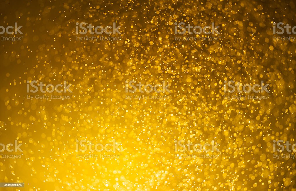 Gold spring or summer background. Elegant abstract background wi stock photo