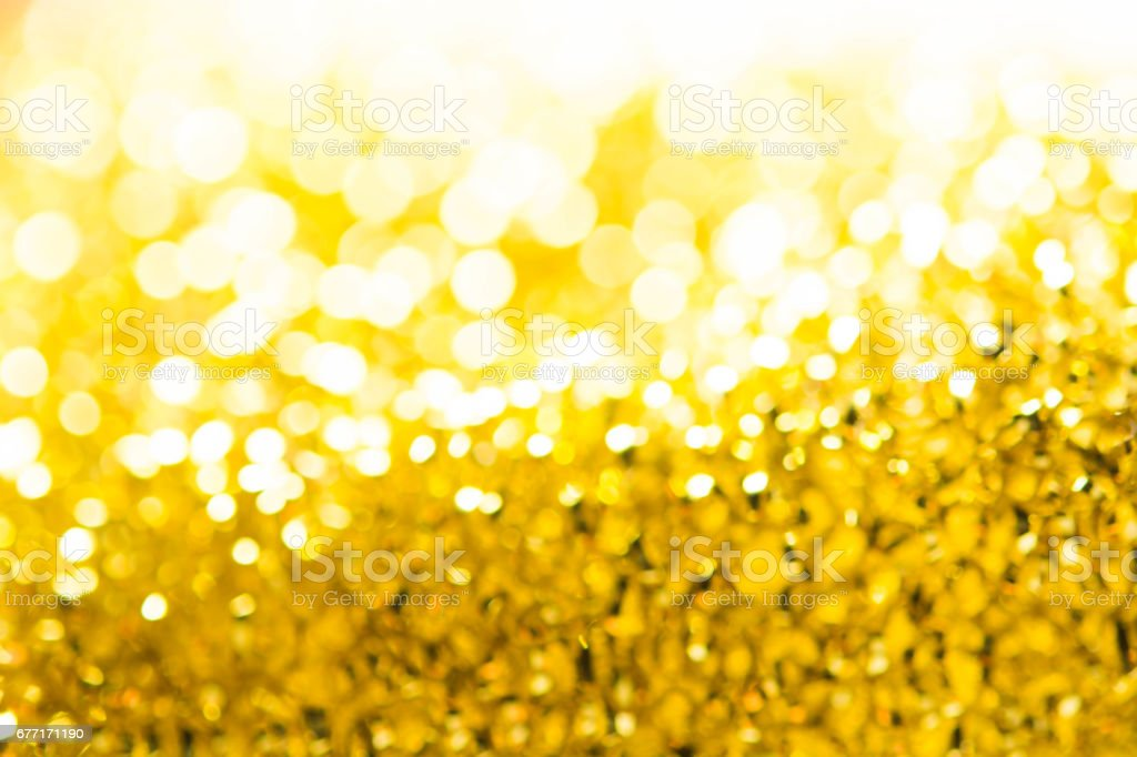 Gold spring or summer, Christmas Glittering background.Holiday abstract texture stock photo