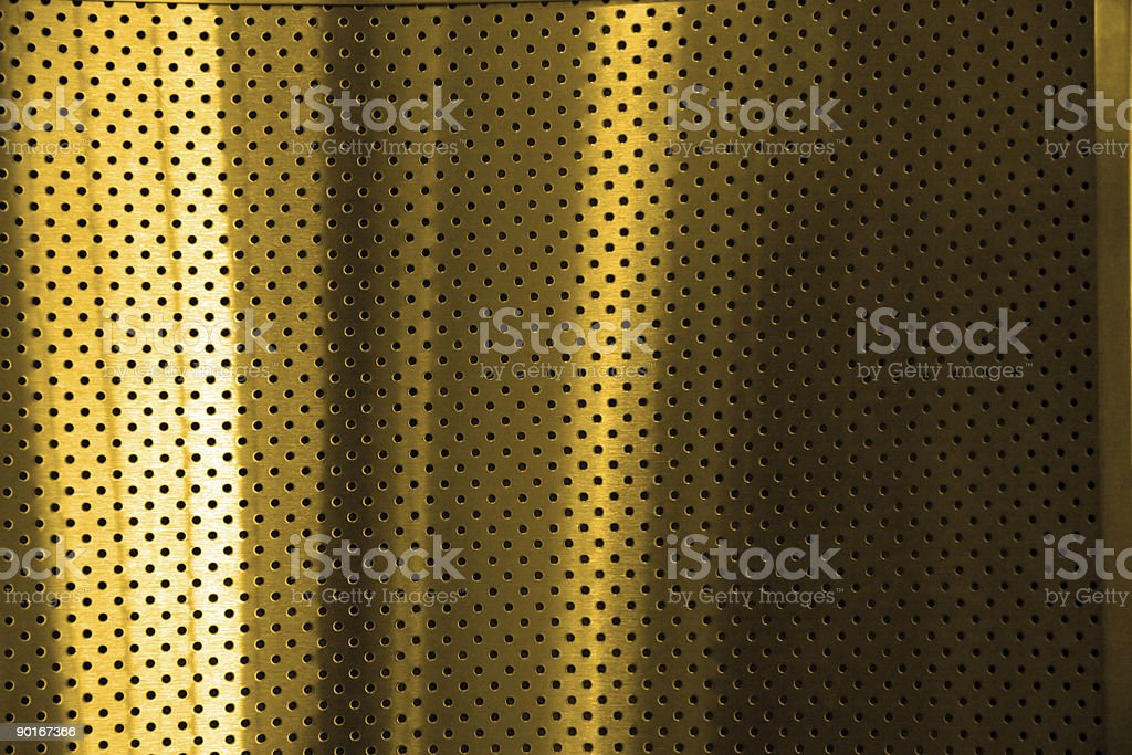 gold steel royalty-free stock photo
