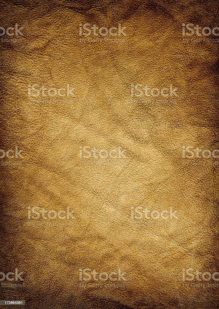 Gold Suede Background XXL royalty-free stock photo