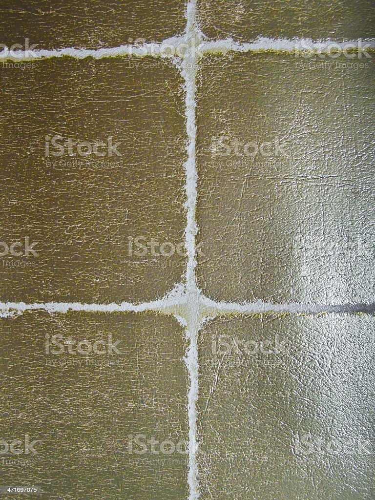 gold textile pattern floor royalty-free stock photo