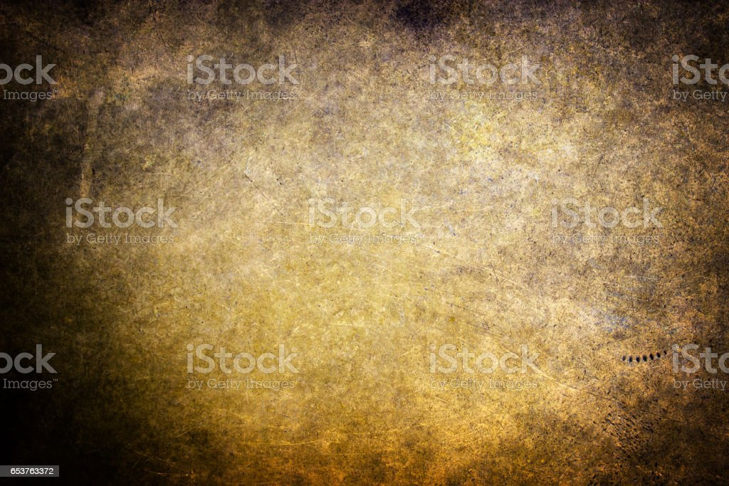 Gold texture metal surface close up background for design stock photo