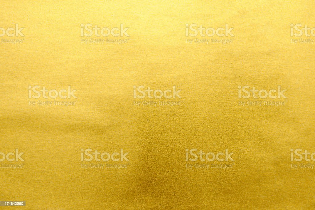 Gold textured background stock photo