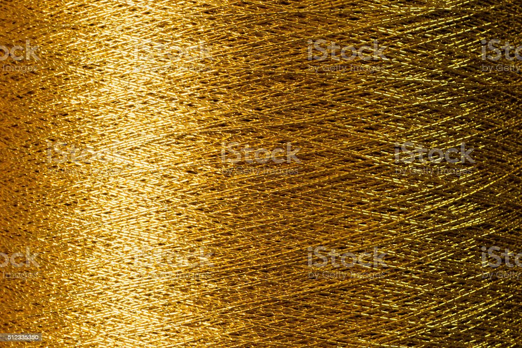 gold thred stock photo