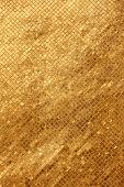 Gold tile mosaic background.