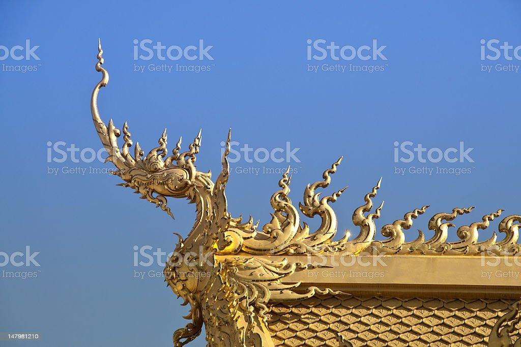 Złota Dachówka dachowe zbiór zdjęć royalty-free