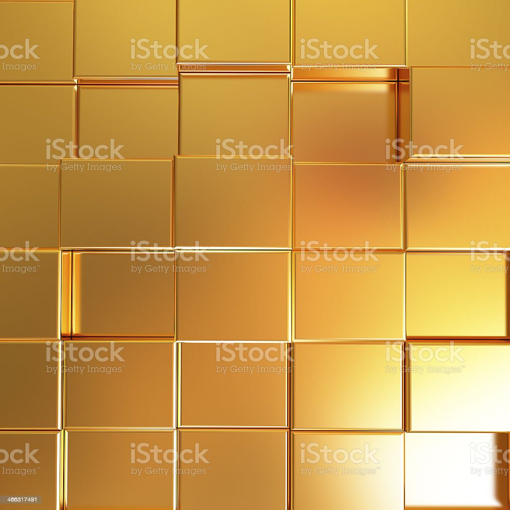 Gold urban background stock photo