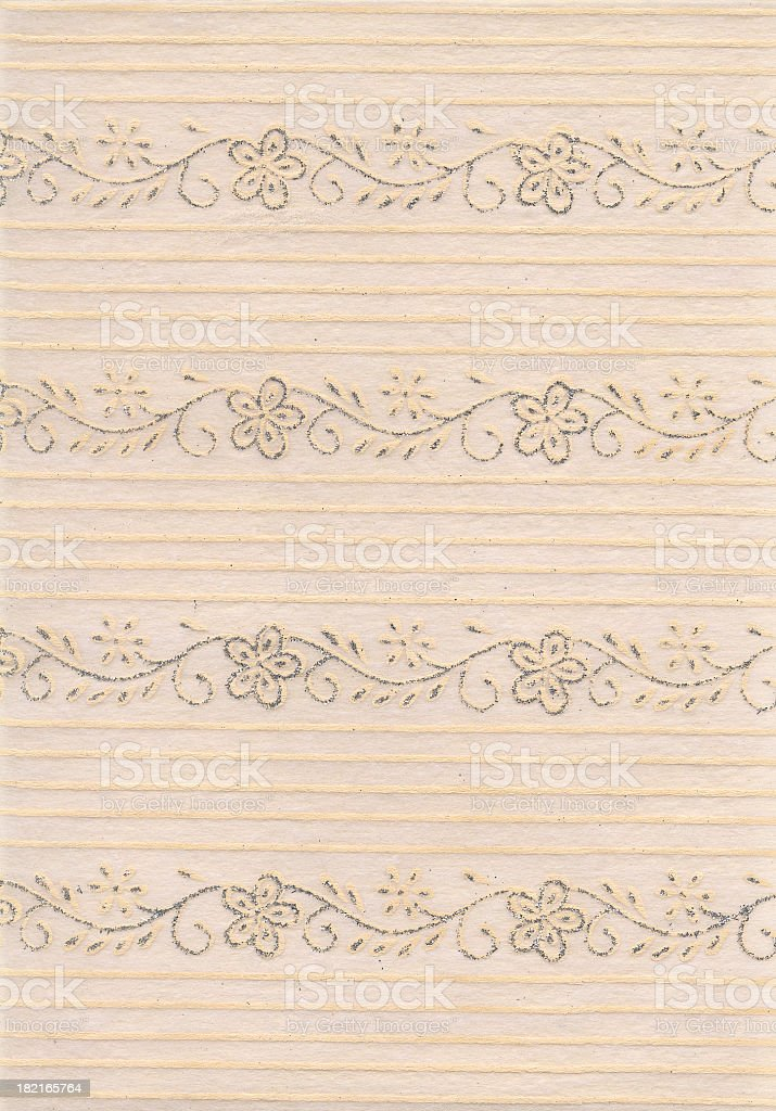Gold wedding paper royalty-free stock photo