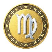 Gold Zodiac Signs - Virgo