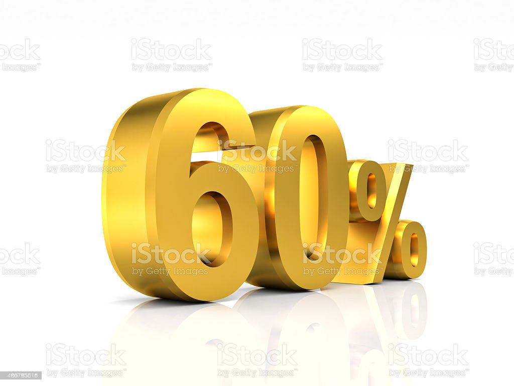 golden 60 discount stock photo