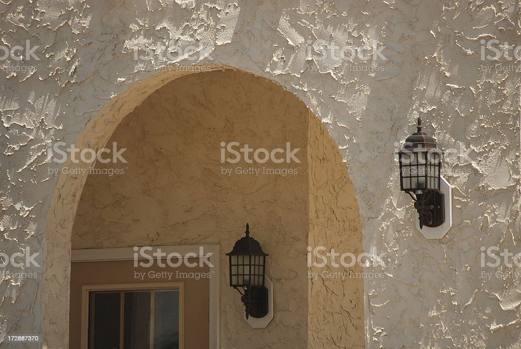 Golden Archway royalty-free stock photo