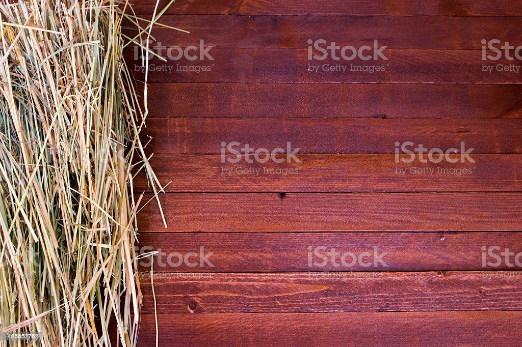 Golden autumn fall hay straw texture stock photo
