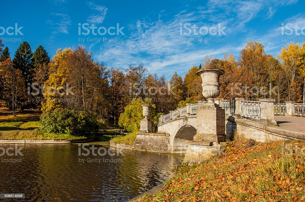Golden autumn. stock photo