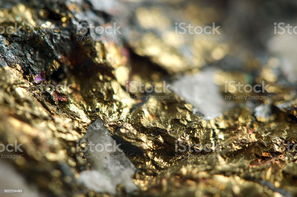 Golden background, rather unique macro photo stock photo