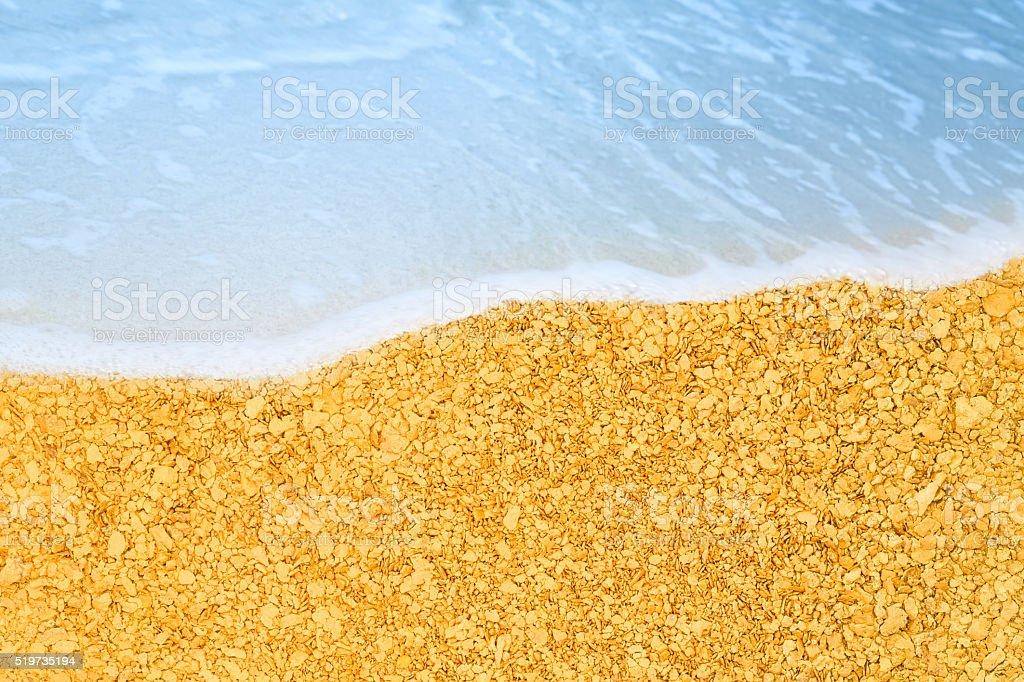 Golden Beach Lizenzfreies stock-foto