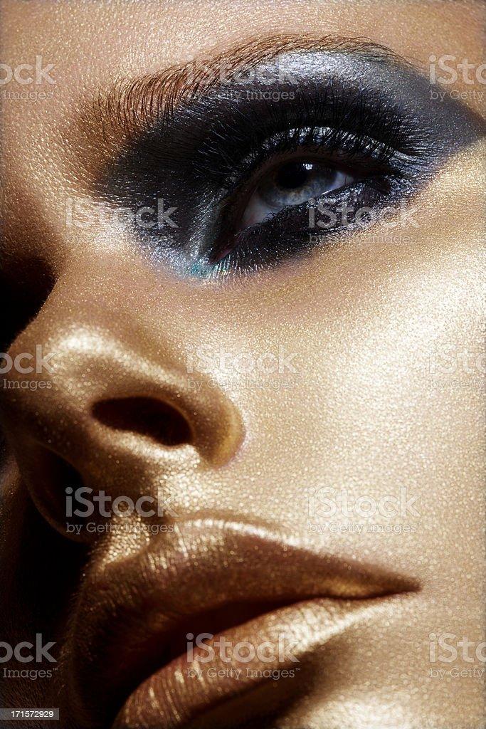 Golden Beauty stock photo