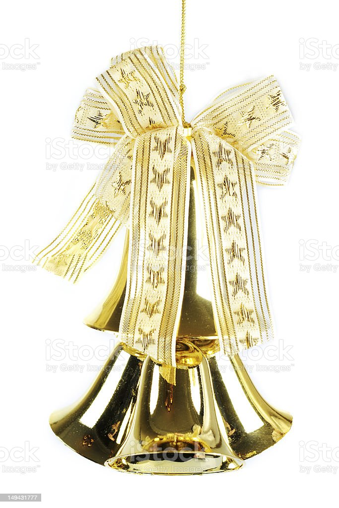 Golden Bell - XLarge royalty-free stock photo