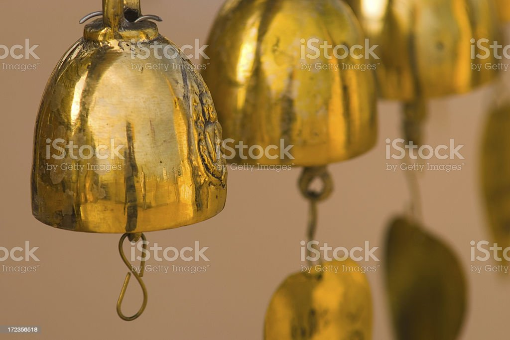 Golden Bells 2 royalty-free stock photo