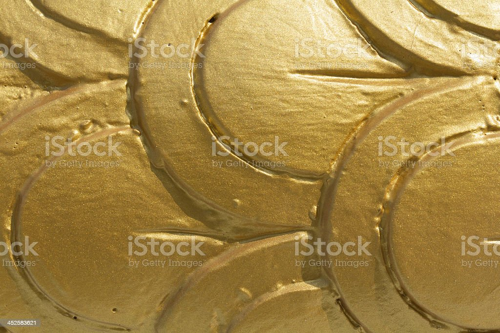 Golden Bits Background Texture stock photo