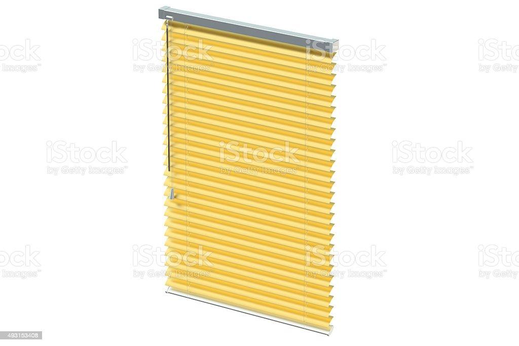 golden blinds stock photo