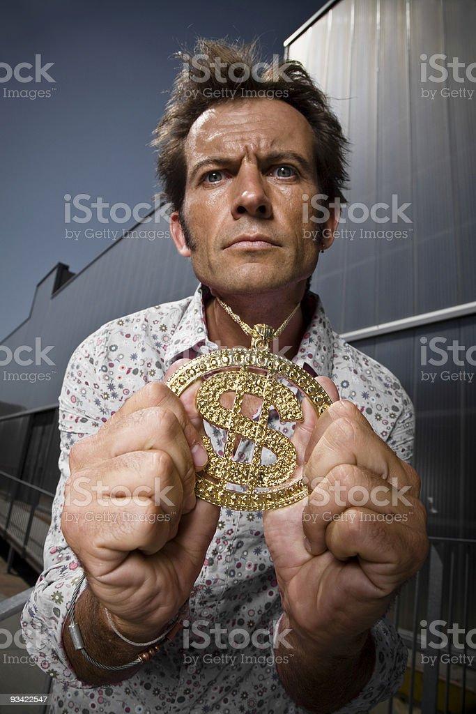 golden bling royalty-free stock photo
