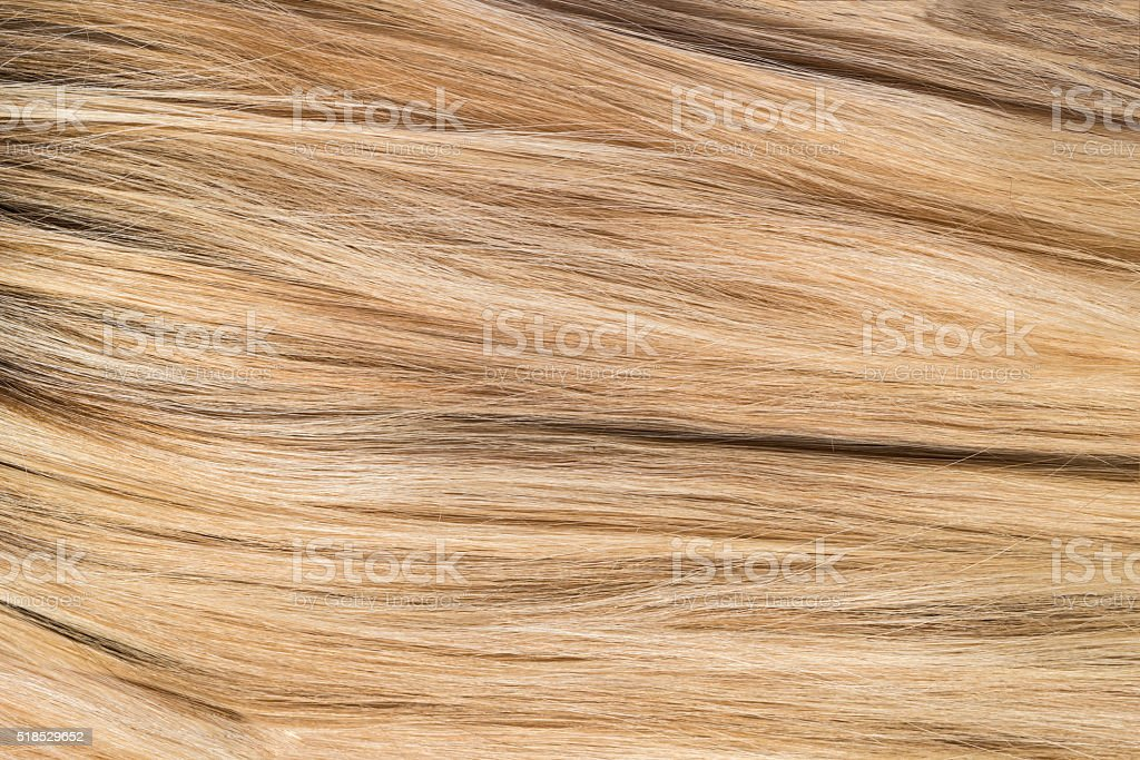 Golden Blonde Hair Texture stock photo