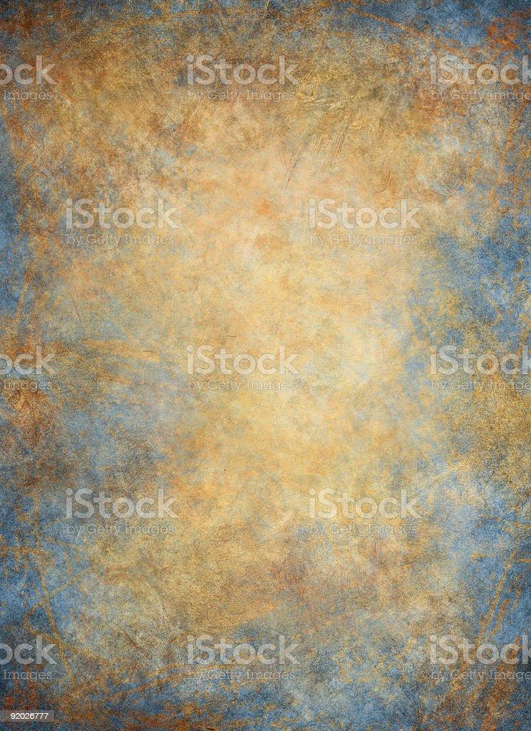 Golden Blue Background stock photo