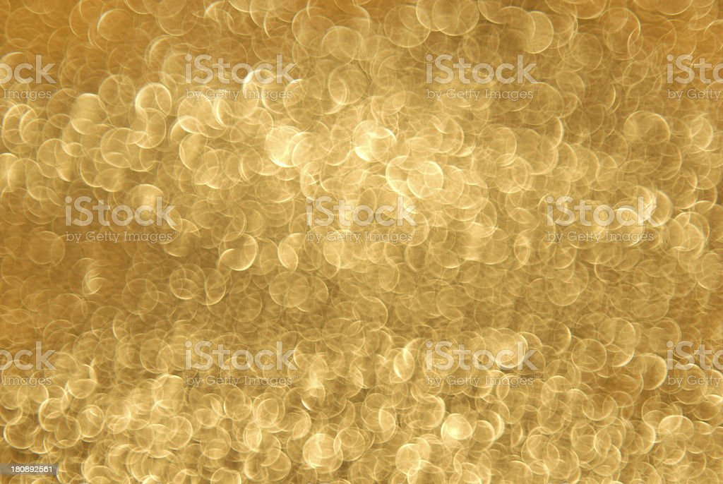 golden blurry circle background royalty-free stock photo