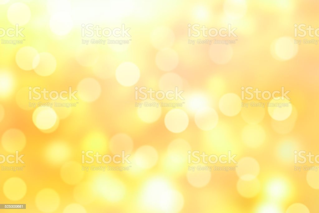golden bokeh background stock photo