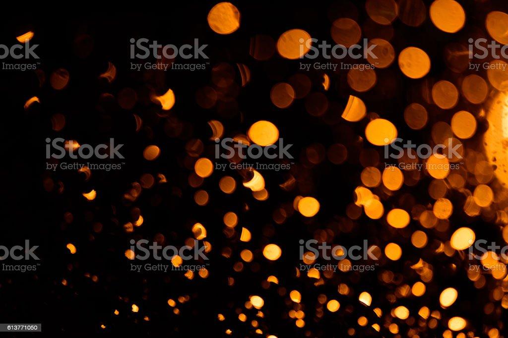 golden bokeh background stock photo