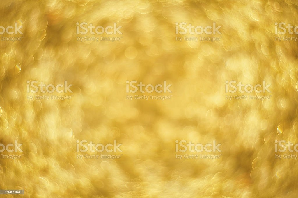golden bokeh royalty-free stock photo