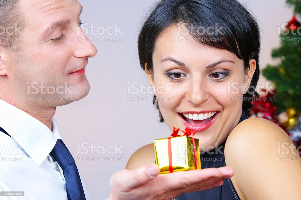 golden box royalty-free stock photo