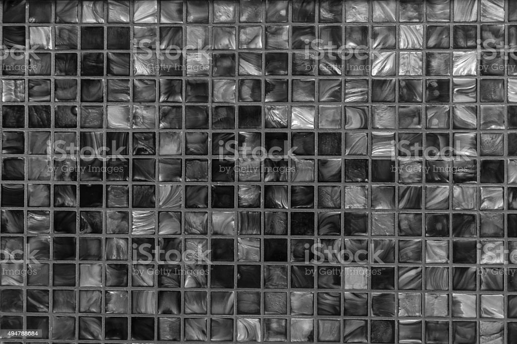 Golden Brown Mosaic Background stock photo